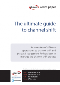 ultimate guide to channel shift white paper cover